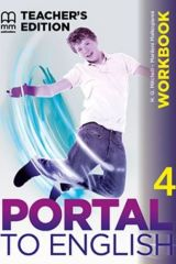 Portal to English 4 Workbook (Teacher's edition)