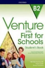 Venture into First for Schools Student's book (+Online Practice Tests)