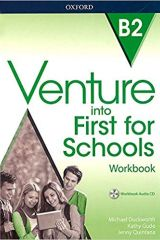 Venture into First for Schools Workbook (+ AUDIO CD)