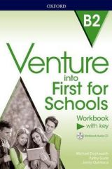 Venture into First for Schools Workbook With KEY (+ AUDIO CD)