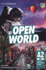 Open World A2 Key Student's Book without Answers with Online Practice