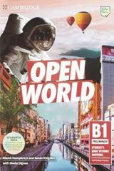 Open World Preliminary Student's Book Pack