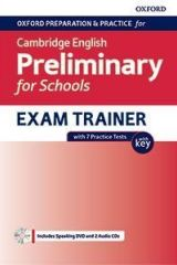 Cambridge English Preliminary for Schools Exam Trainer B1 with Key