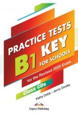 Practice Tests B1 Preliminary for Schools Revised 2020 Class CDs (set of 5)