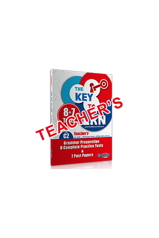 THE KEY TO LRN C2 8+7 (GRAM. PREP. & 8 PT + 7 Past Papers) Teacher's book