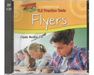 Cambridge YLE Practice Tests Flyers 2018 Class Audio CDs