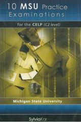 10 MSU Practice Examinations for the CELP 2: audio CDs