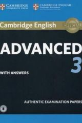 Cambridge English Advanced 3 Student's book with Answers (+Downloadable Audio)