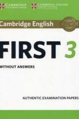 Cambridge English First 3 Student's book