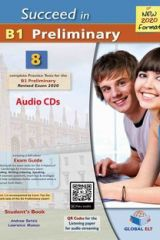 Succeed in B1 Preliminary 8 Practice tests Audio CDs (Revised Exam 2020)