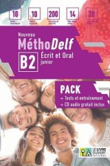 Nouveau Methodelf B2 Pack Eleve (Livre + Tests)
