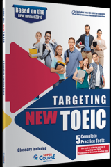 Targeting New TOEIC 5 Complete Practice Tests (+ibook)
