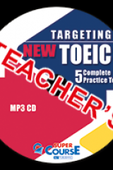 Targeting New TOEIC 5 Complete Practice Tests 1 MP3 CD Καθηγητή