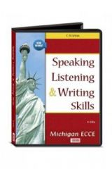 Speaking Listening and Writing Skills for the Michigan ECCE Audio CDs (4) 2020