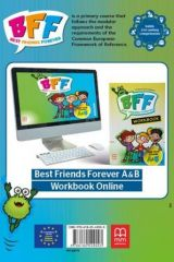 BFF - Best friends forever A and B Workbook with online code