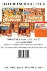 Discover 3 (II Ed) Full Pack -03624