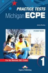 Practice Tests for the Michigan ECPE 1 for the Revised 2021 Exam - Student's Book (with DigiBooks App)