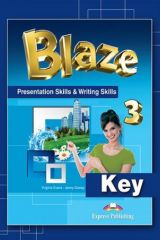 Blaze 3 - Presentation Skills & Writing Skills Key