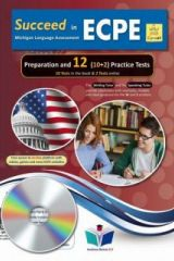 Succeed in ECPE Preparation and 12 Pr. Tests New 2021 Format AUDIO MP3/CD