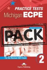 Practice Tests Michigan ECPE 2 for the Revised 2021 Exam Teacher's Book (with DigiBooks App)