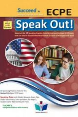 Succeed in ECPE Speak Out 2021 Format Teacher's Overprinted Edition