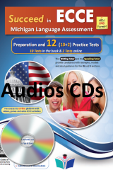 Succeed in ECCE Preparation and 12 Practice Tests 2021 Format Audio Cds