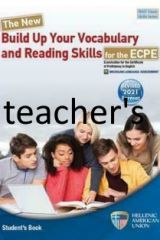The New Build Up Your Vocabulary and Reading Skills for the ECPE Teacher's edition (Revised 2021 Format)