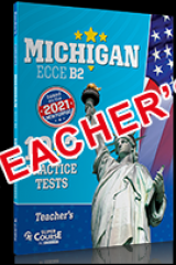 Michigan ECCE B2 10+2 Practice Tests Teacher's book 2021