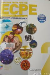 Practice Tests for the ECPE Book 2 Teacher's Edition with 8 CDs (Revised 2021 Format)