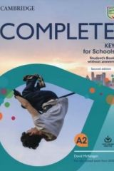 Complete KEY for schools Student's book without Answers (+ Online practice) Rev 2020
