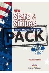 New Stars & Stripes for the Michigan ECPE for the Revised 2021 Exam Skills Builder Teacher's Book (with DigiBooks App)