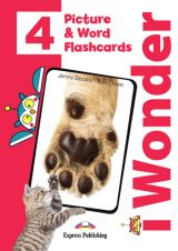 iWonder 4 Picture & Word Flashcards