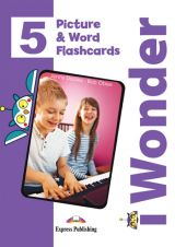 iWonder 5 Picture & Word Flashcards