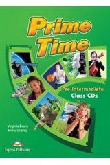 PRIME TIME PRE-INTERMEDIATE CLASS CD'S (SET OF 4) INTERNATIONAL
