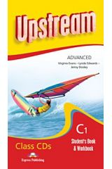 Upstream Advanced C1 Student'S Book & Workbook Class Cds (Set Of 8) Revised