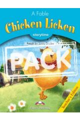 Chicken Licken T'S Pack With Multi-Rom Pal (Audio Cd/Dvd)