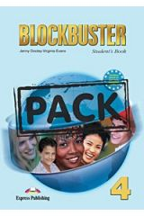 Blockbuster 4 S'S Pack (With Reader-Kidnapped Reader & Cd)