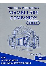 Michigan Proficiency Vocabulary Companion Book 1